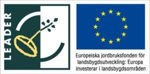 Leader och EU logotyp